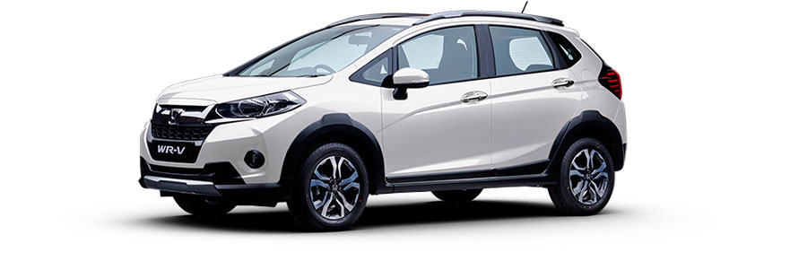 Honda WR-V White Orchid Color Variant