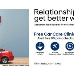 Hyundai India announces 23rd Free Car Care Clinic