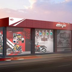 This is How First-ever Mahindra MOJO Exclusive Dealership Looks Like