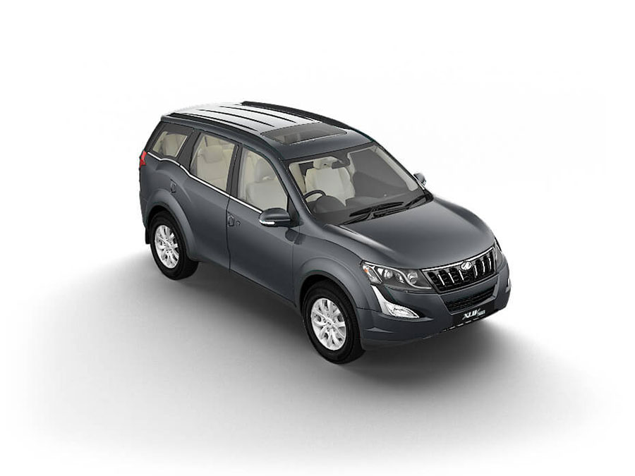 Mahindra XUV500 Grey Color - Mahindra XUV500 Dolphin Grey Color