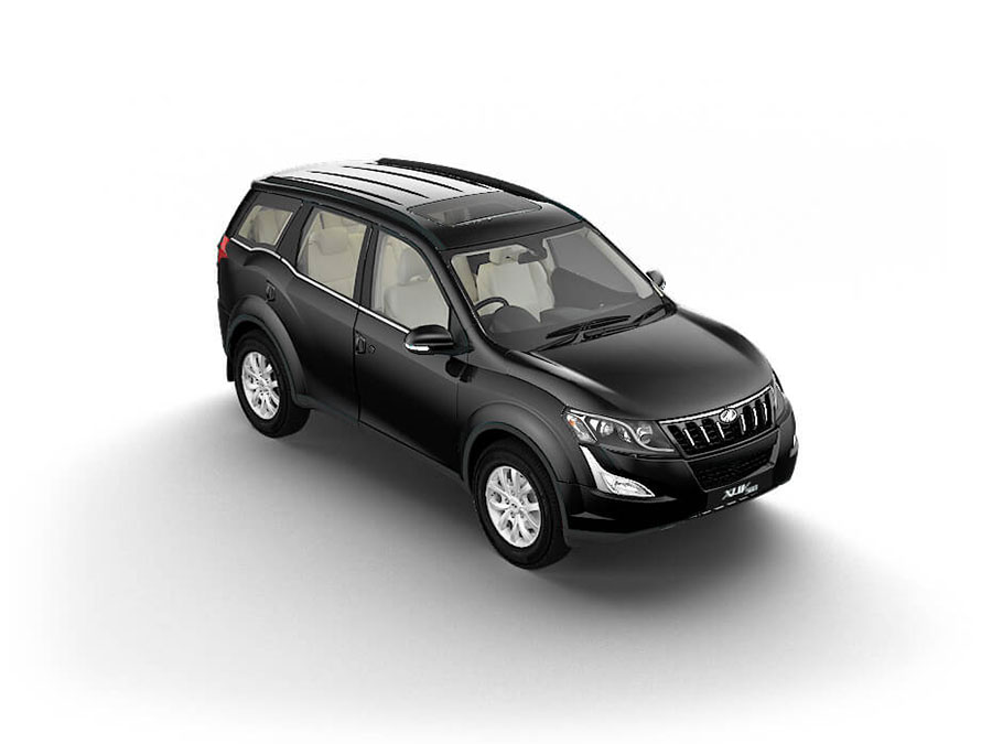 Mahindra XUV500 Volcano Black Color - XUV500 Black Color Variant