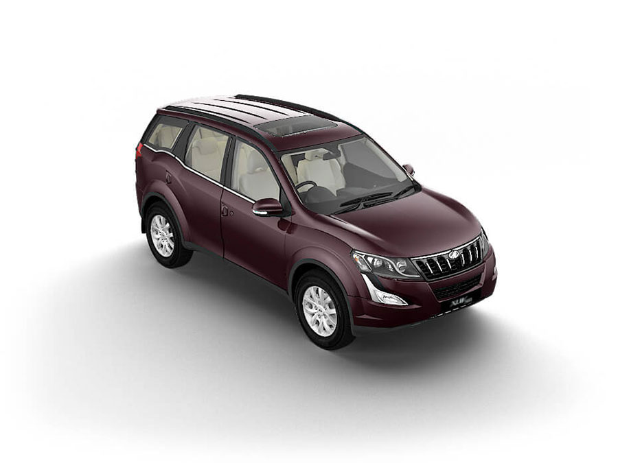 Mahindra XUV500 Opulant Purple Color - XUV500 Purple Color