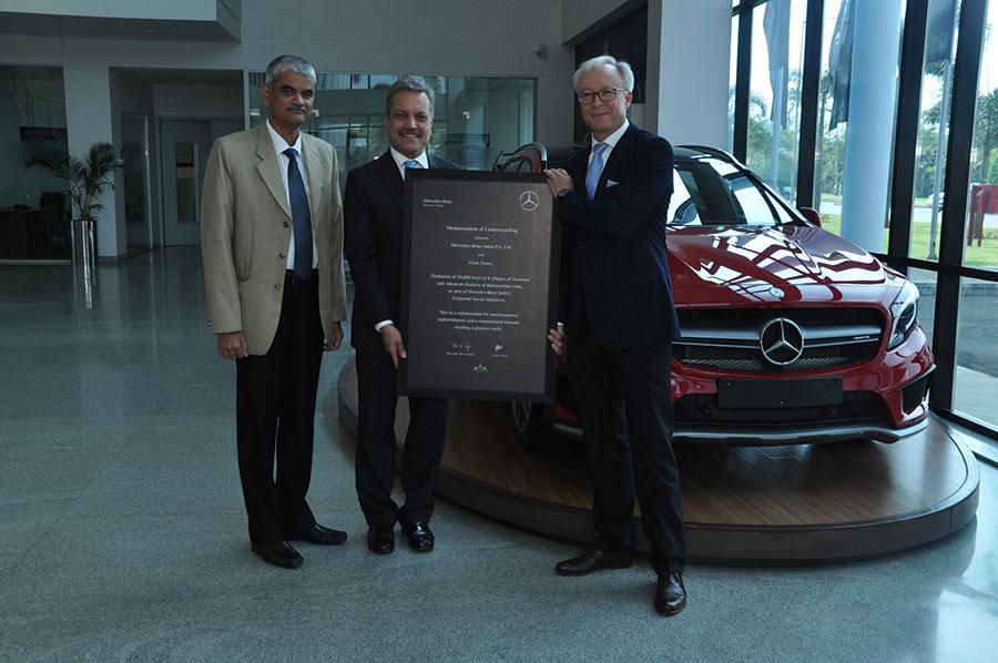 Mercedes-Benz Grow Trees Partnership Photo 1