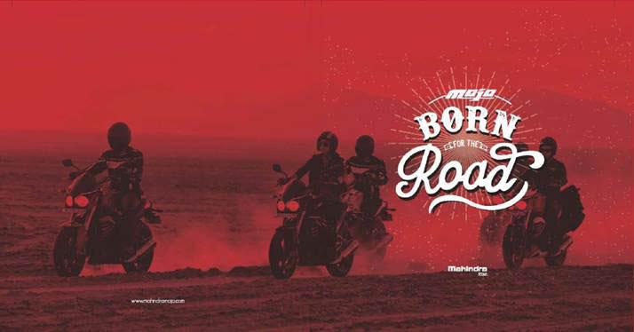 Mahindra Mojo Born on Road