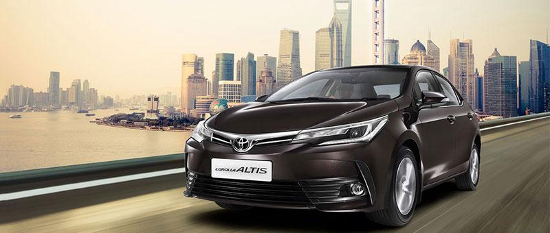 New 2017 Toyota Corolla Altis India Launch