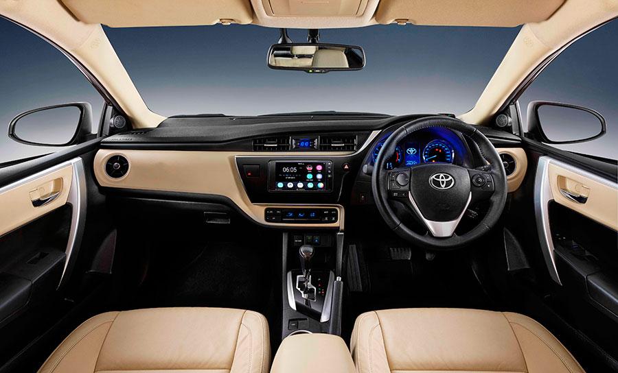 New Toyota Corolla Altis Dashboard Interiors