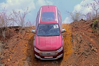 Ford Endeavour – Off-Road Drive Experience