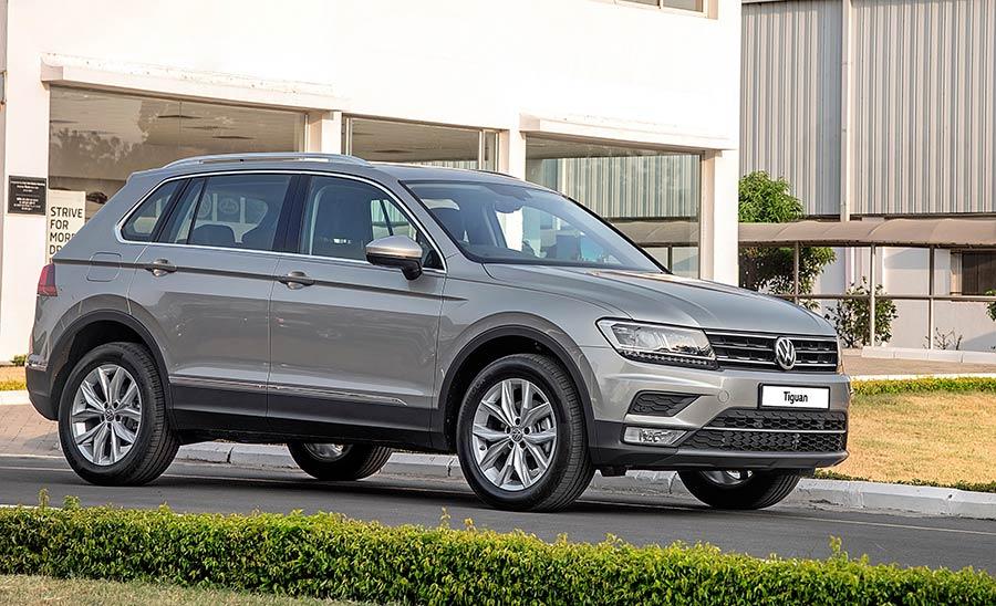 2017 Volkswagen Tiguan SUV Manufacturing begins
