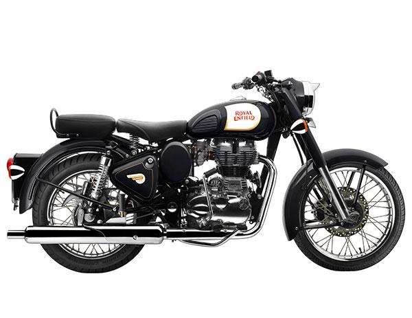 Royal Enfield Classic 350 Black Color