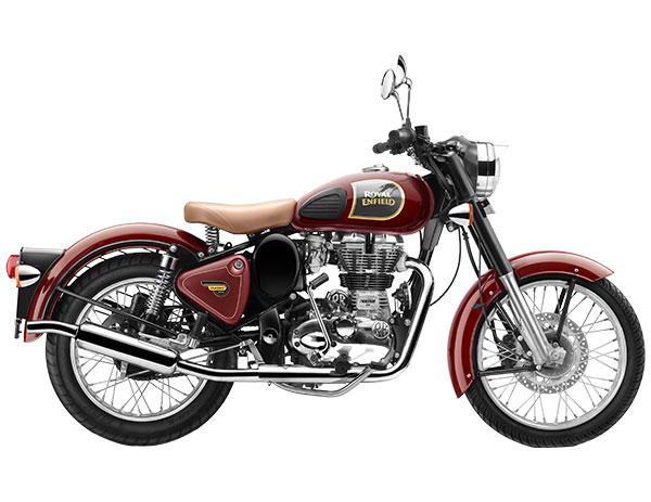 Royal Enfield Classic 350 Chestnut Color - Classic 350 Red Color Variant