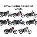 Royal Enfield Classic 350 Color