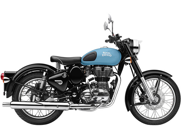 Royal Enfield Classic 350 Redditch blue color pic
