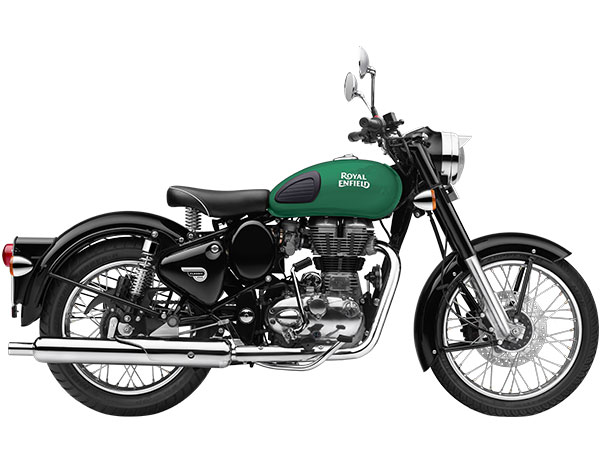 Royal Enfield Classic 350 Redditch Green Color Variant