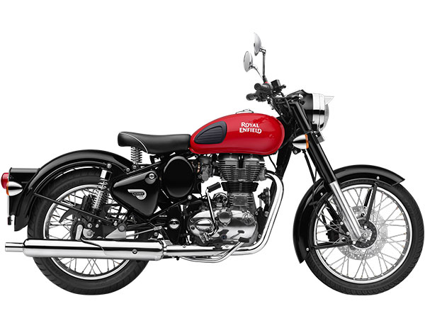 Royal Enfield Classic 350 Red