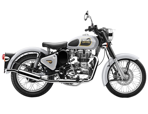 Royal Enfield Classic 350 Silver Color Photo