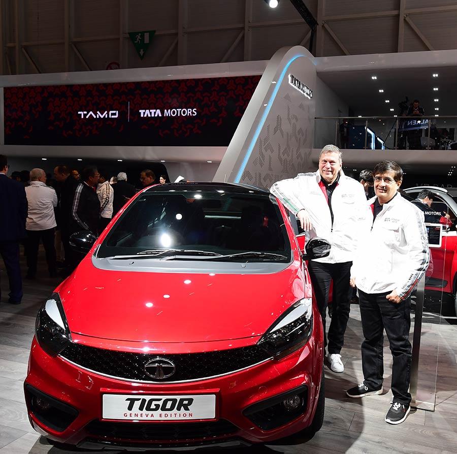 Special Edition Tata TIGOR Geneva Motor Show