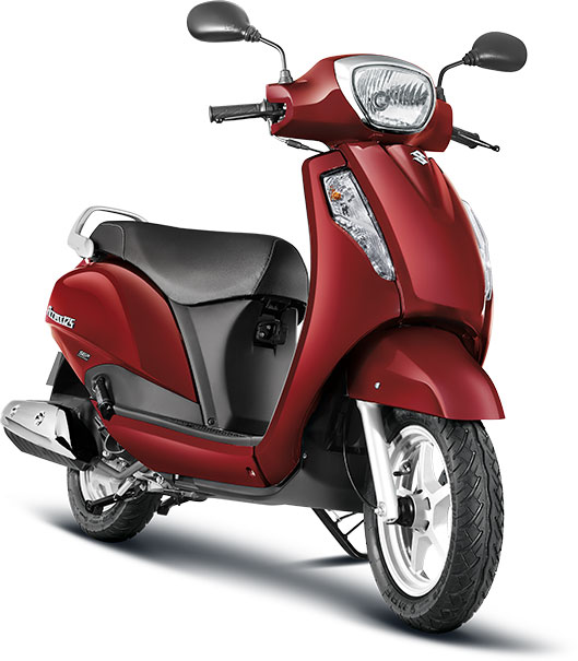 Suzuki-Access-125-Candy-Sonoma-Red-Color---Suzuki-Access-125-Red-Color