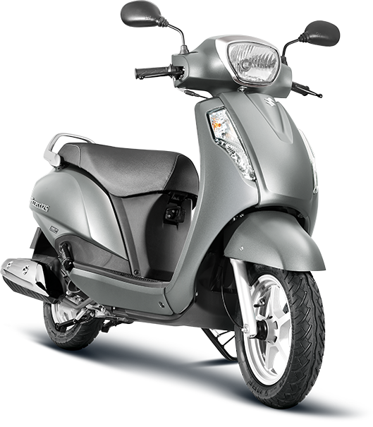 Suzuki Access 125 Metallic Sonic Silver (YD8) Suzuki Access 125 Silver Color