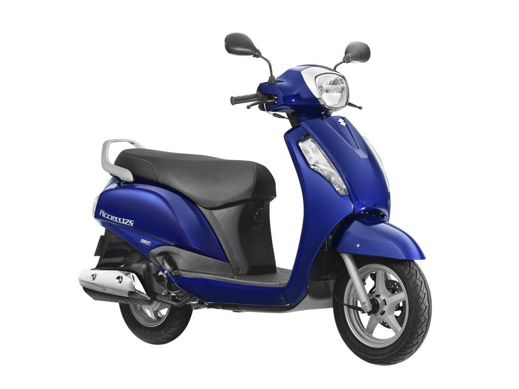 Suzuki Access Blue