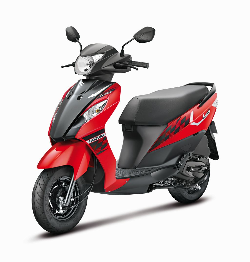 Suzuki Lets Red Color Variant