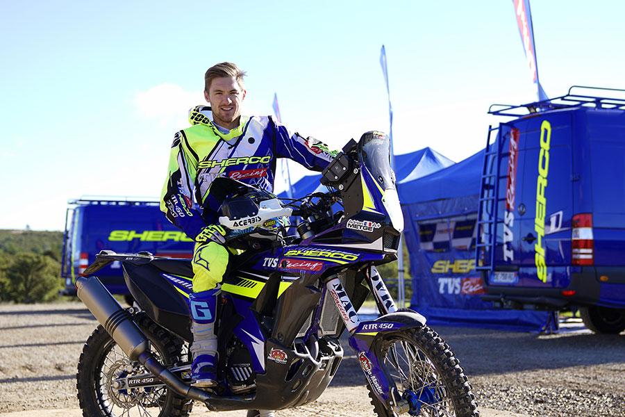 TVS Racing Adrien