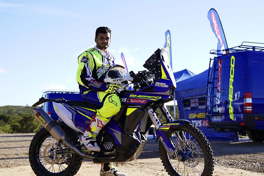 TVS Racing Aravind KP