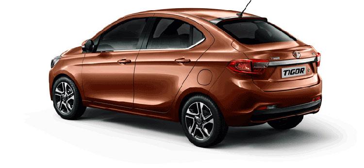 Tata TIGOR Copper Dazzle Color Variant