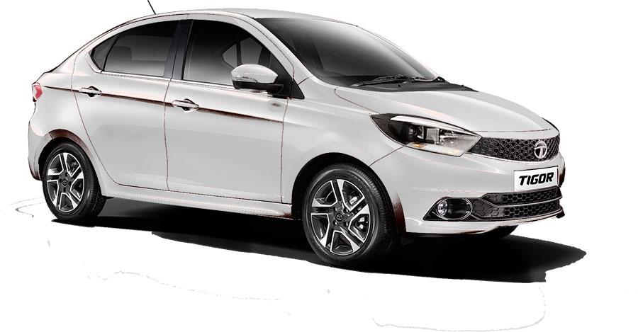 Tata TIGOR Pearlscent White Color (TIGOR White Color Option)