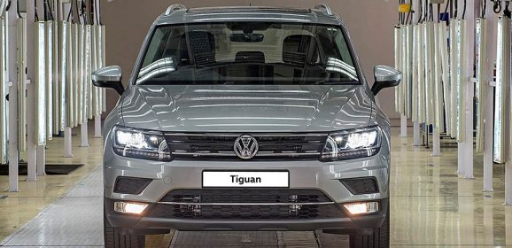 Volkswagen Tiguan Production starts at Aurangabad Facility