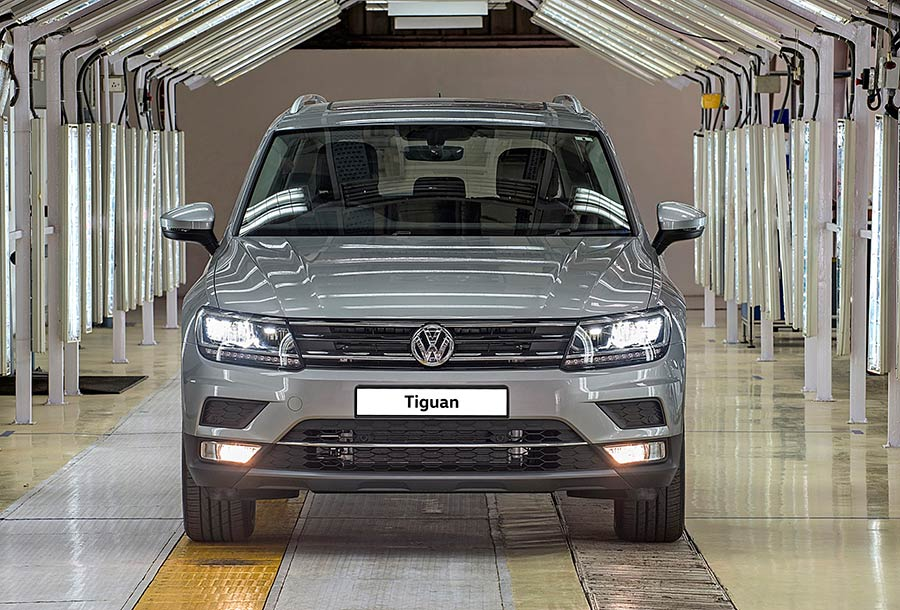 Volkswagen Tiguan Production Announced