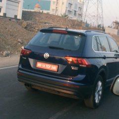 Volkswagen Tiguan Diesel Spotted Testing in India
