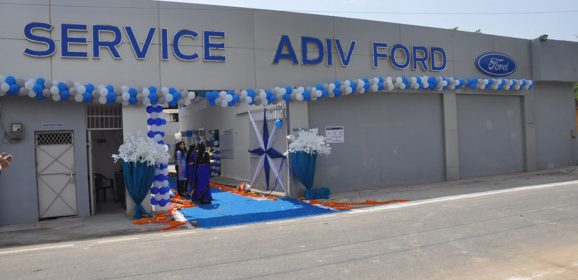 """New Ford Showroom """"Adiv Ford"""" Opened in Ghaziabad, Delhi NCR"""