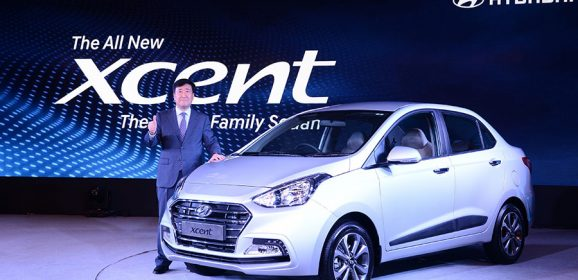 2017 Hyundai Xcent launched in India at INR 5.38 Lakhs