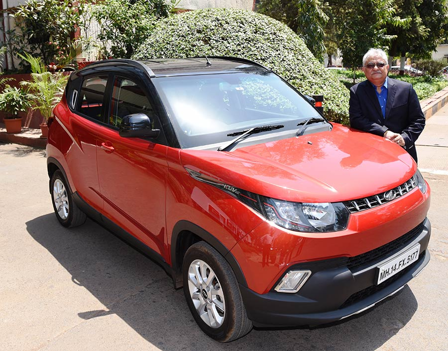 Mahindra KUV100 Total Unit Sales