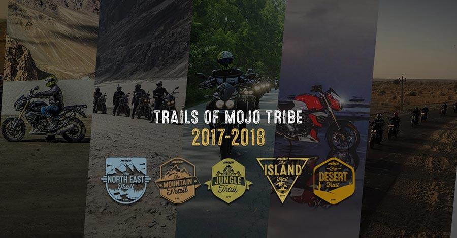 Mahindra Mojo Trail Calendar