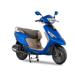 2017 TVS Scooty Zest 110 New Matte Colors added: Blue, Red, Yellow, Black