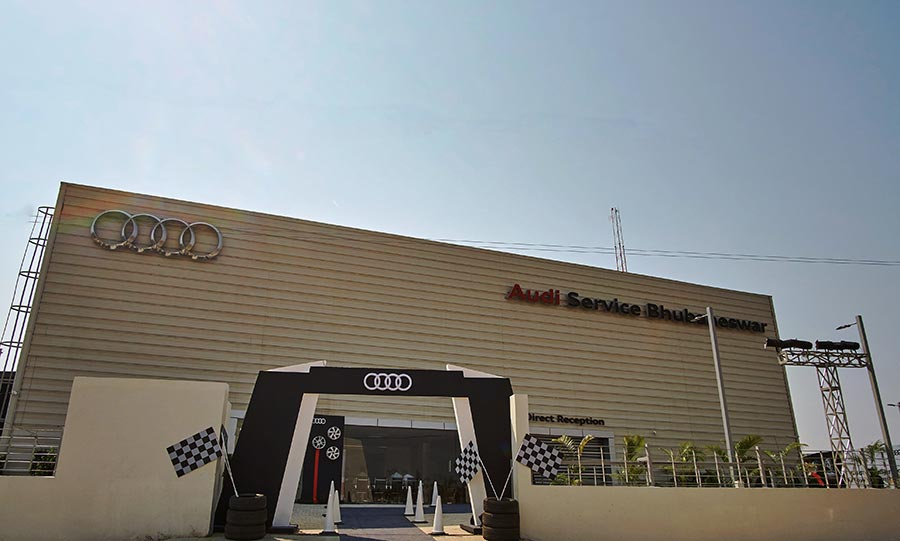 Audi Bhubaneswar Facility in India