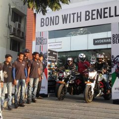 Bond with Benelli in Kolkata and Hyderabad