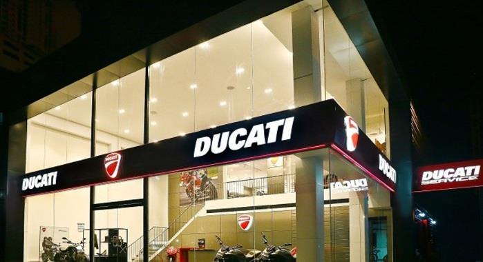 Ducati Showroom Kochi india