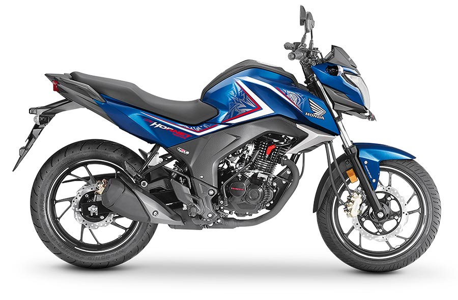 Honda Hornet 160R Athletic Blue Metallic Color