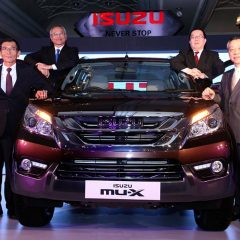 ISUZU mu-X premium full-size 7-seater SUV launched in India