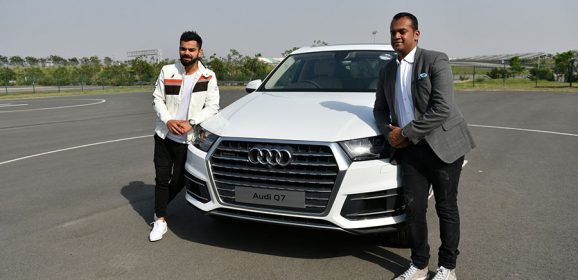 Audi adds SUV power to Virat's arsenal; Hands over new Audi Q7