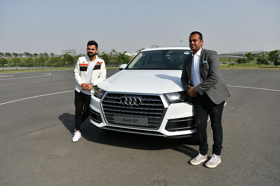 Audi Adds Suv Power To Virat S Arsenal Hands Over New