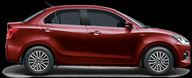 New 2017 Maruti Dzire Red Color Gallant Red Color