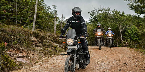 Royal Enfield Scramble Ride Photo 1