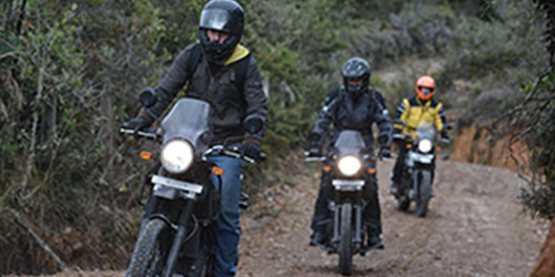 Royal Enfield Scramble Ride Photo 2