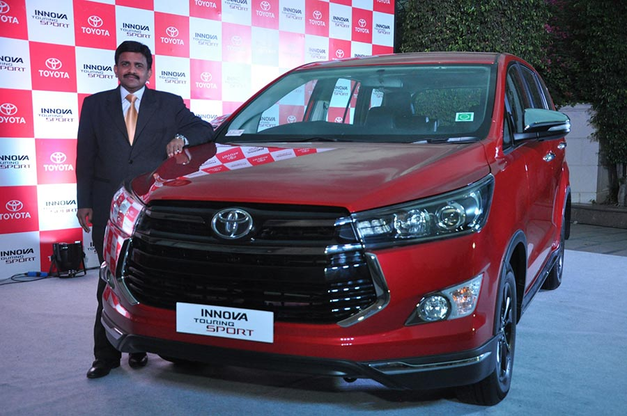 Toyota Innova Touring Sport Launch in India
