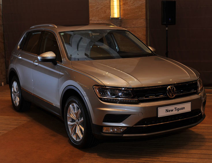 Launch of New Volkswagen Tiguan SUV