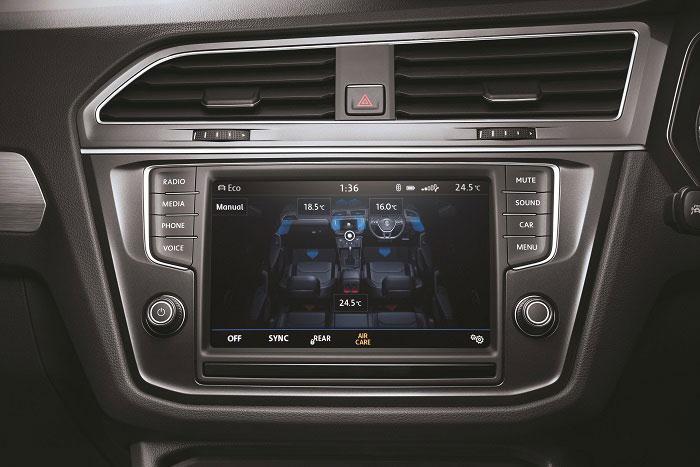 Volkswagen Tiguan Interior - Infotainment System