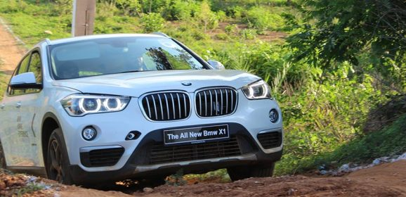 Mind Blowing Photos of BMW X1 from BMW xDrive Experience 2017